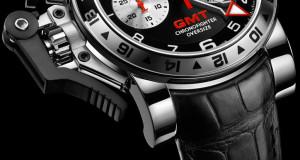 Graham Chronofighter Oversize GMT Steel Watch