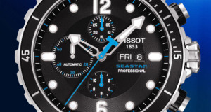 Tissot SeaStar 1000 Professional Automatic Chronograph Valjoux Watch