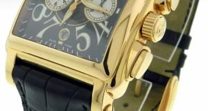 Franck Muller Conquistador Cortez 10000HCC 18K Rose Gold Chrono Watch