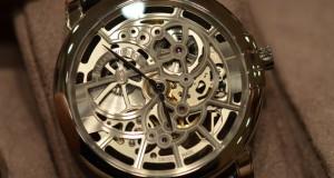 Harry Winston Midnight Skeleton Watch