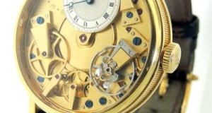Breguet La Tradition 7027ba 18K Yellow Gold Manual Mechanical Skeleton Watch