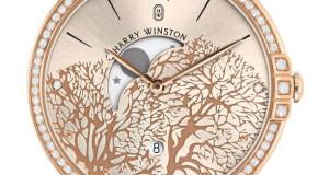 Harry Winston Midnight Moon Phase Watch