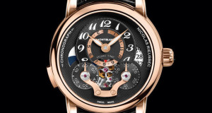 Montblanc Nicolas Rieussec Chronograph Open Hometime Watch