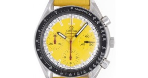 Speedmaster Schumacher Yellow – For the Formula 1 Racing Addict in You!