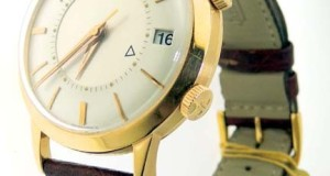 Jaeger LeCoultre Memovox 18K Rose Gold Automatic Watch