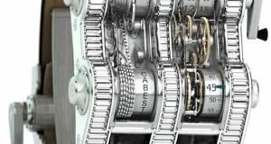 Cabestan Winch Tourbillon Vertical Watch