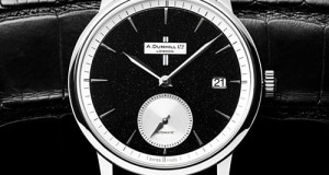 Alfred Dunhill Classic Crushed Black Diamond Watch