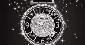 Saint Honore Opéra Black Éclair Wristwatch