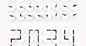 The Clock Clock White By Humans Since 1982 – Truly one of a kind clock design!