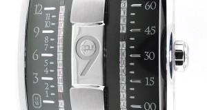 Harry Winston Opus 9 Binary 18K White Gold Diamond Automatic Watch