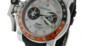 Graham Chronofighter Oversize 2OVASGMT.S01A Steel Automatic Watch