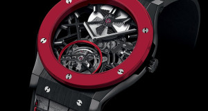 Hublot Red n' Black Skeleton Tourbillon for the Only Watch 2013 Charity Auction
