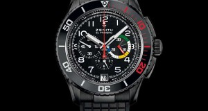 Zenith Watches Introduces the Limited Edition El Primero Stratos Flyback Rainbow Watch