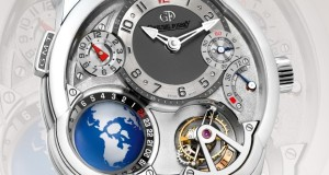 Greubel Forsey Watches Includes a 3-Dimensional Globe into their GMT Dial