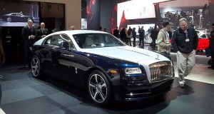 Rolls Royce Wraith Arrived, and Time Stood Still