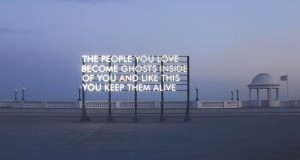 Robert Montgomery's Art Exhibition at JD Malat Gallery