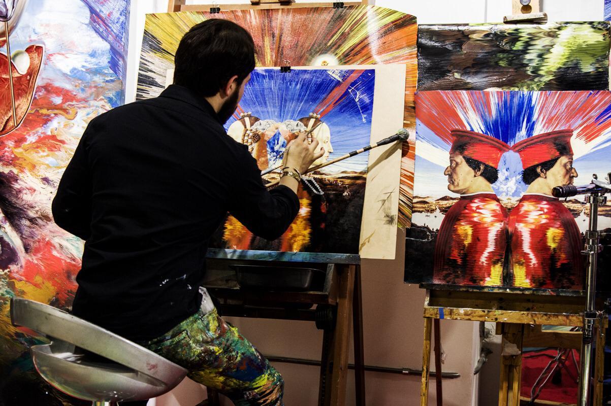 The Amazing Visionary Art of Alex Sastoque