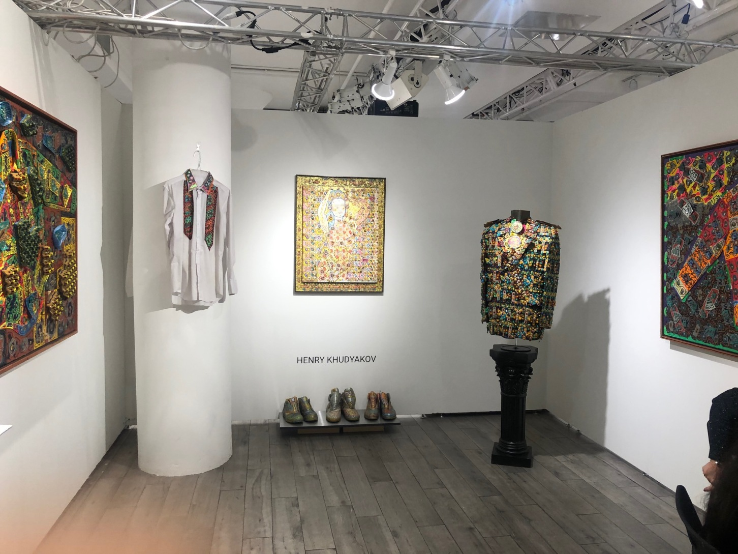 Henry Khudyakov's Art Project at VOLTA New York 2020