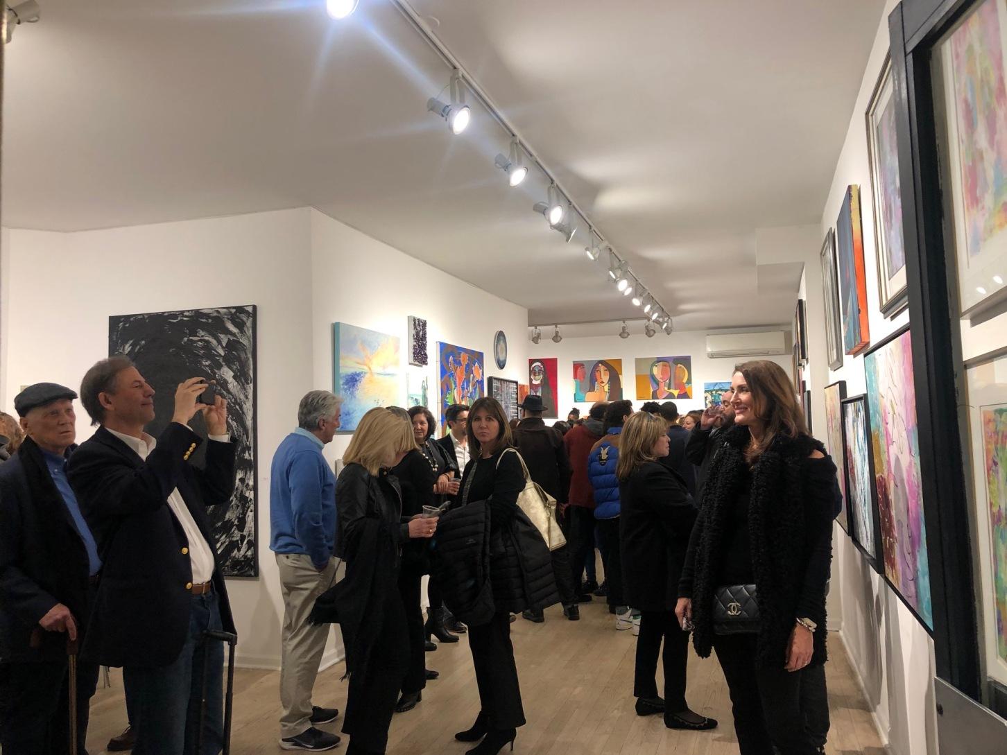 Female Artists at Van Der Plas Gallery