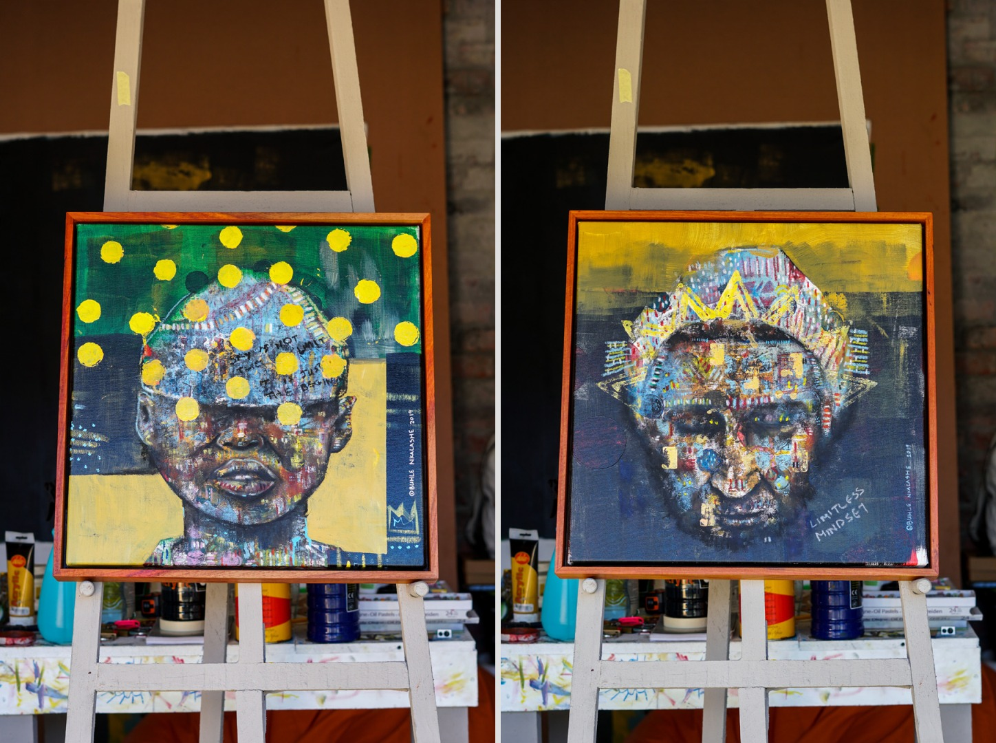 Re-Emerge: A Remarkable Collection of Artworks by Buhle Nkalashe