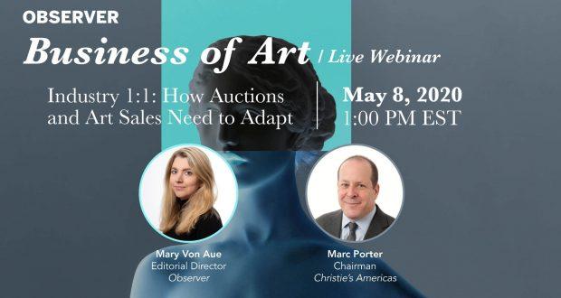 Business of Art Webinars from Observer