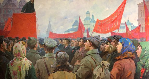Mega Paintings from Soviet Ukraine at The Museum of Russian Art