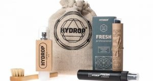 Innovative Nano-Cosmetics for Shoes & Apparel from Hydrop