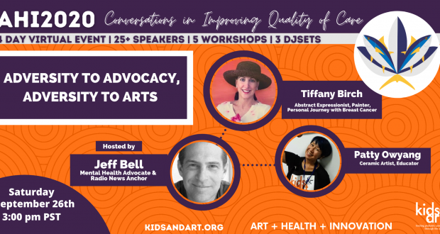 The Kids & Art 4-Day Virtual Summit and Benefit Art Show