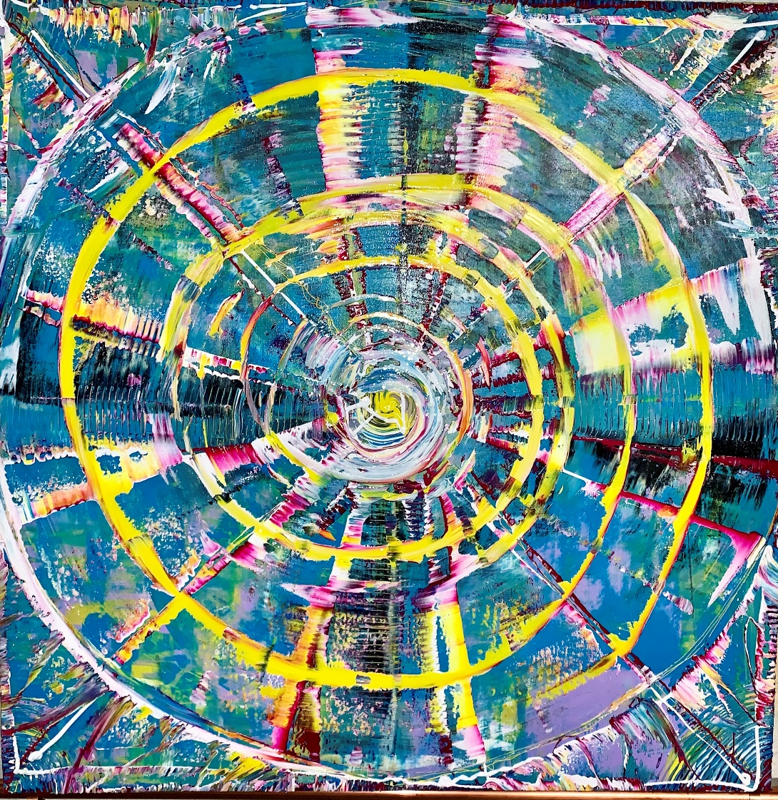 Tony Seker — An Abstract Painter Dancing with the Universe