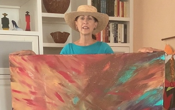 Tiffany Birch Reveals Her Art in a Series of 100+ Painting Videos