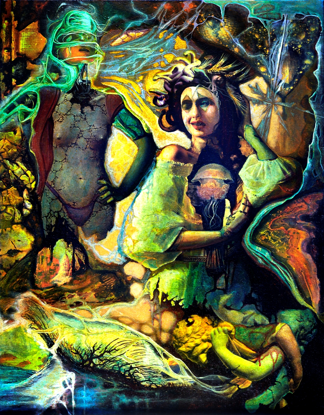 Mind-Boggling Neo-Surrealist Paintings by Cezar Ungureanu