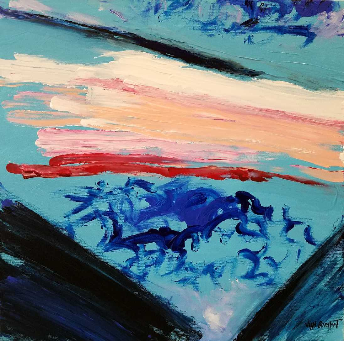 Visual Poetry by the Abstract Expressionist Artist Vian Borchert