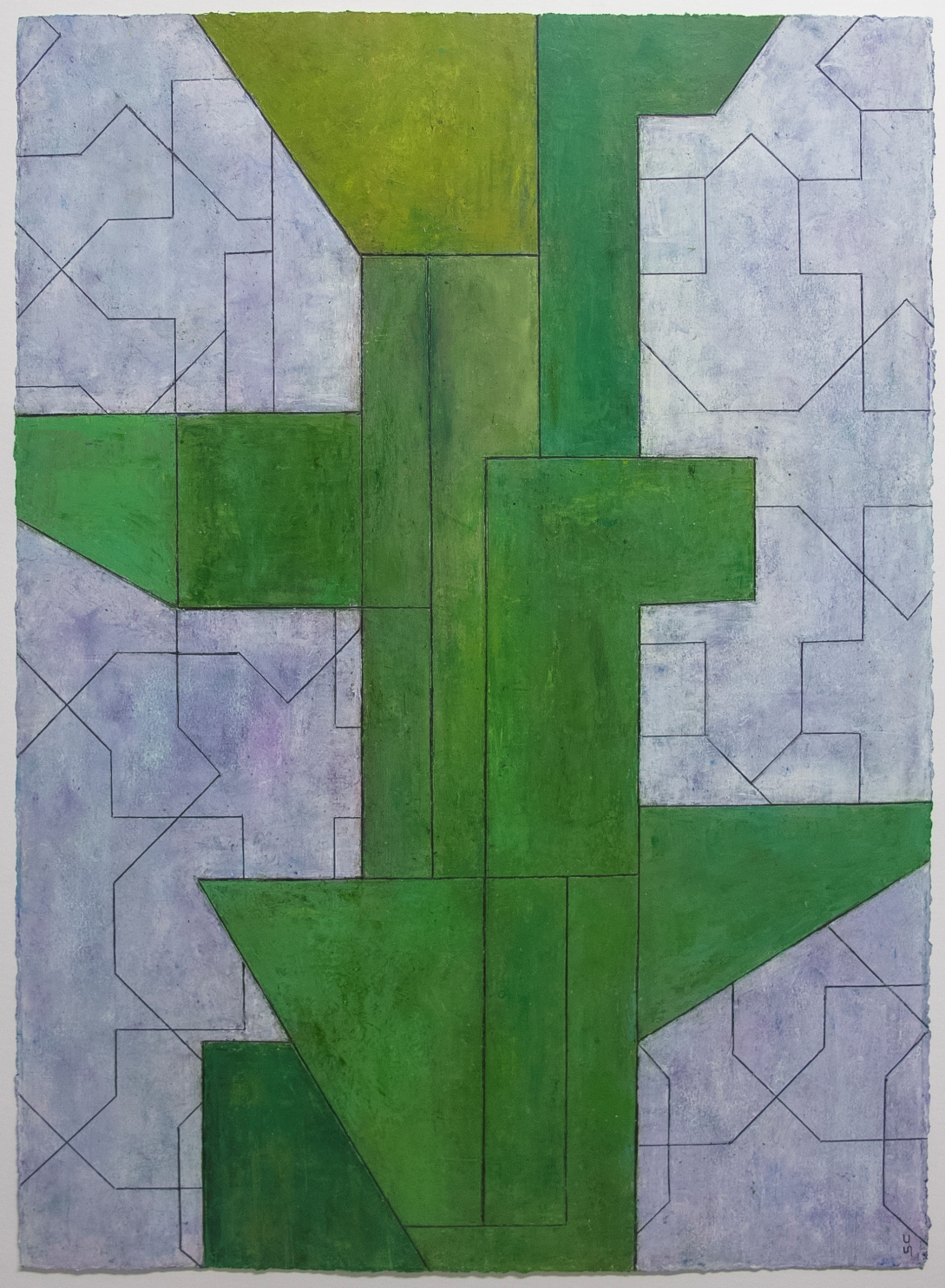 Captivating Geometric Abstract Art by Stephen Cimini