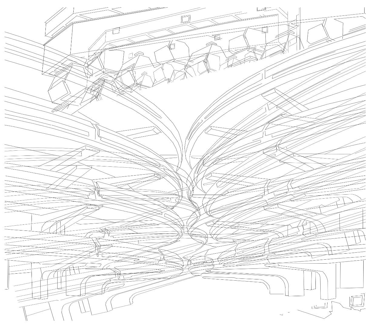 Paradigma: Alejandro Vega Baró's Digital Drawings You Must See