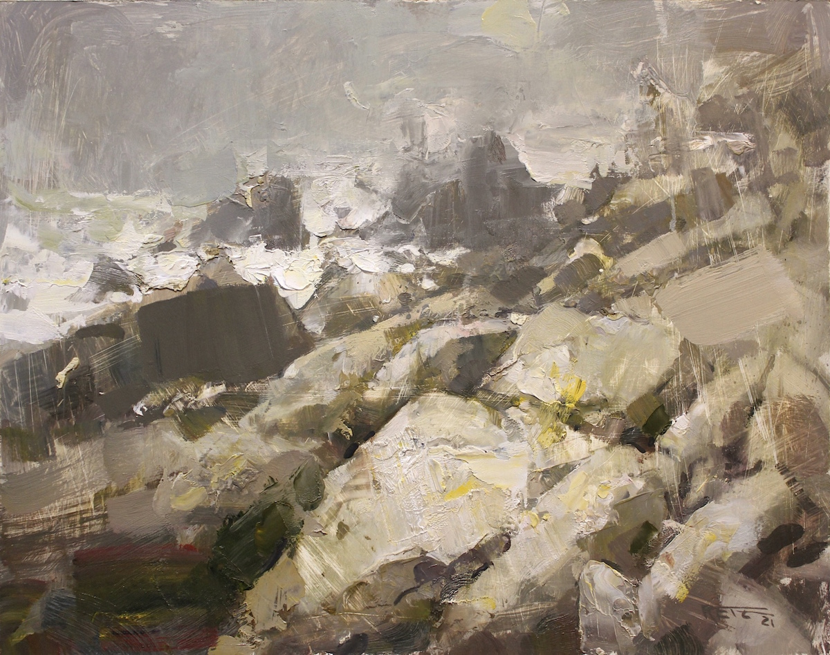 Glorious Landscape Paintings in the Art of Tad Retz