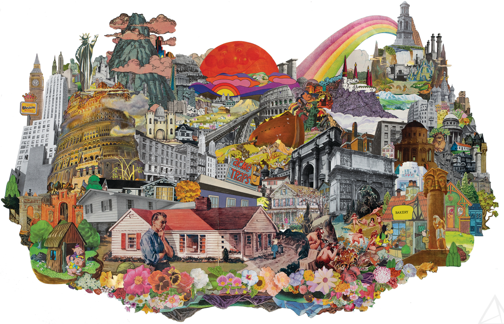 """Contemporary Collage Art by Morgan Jesse Lappin at """"High on Collage"""""""