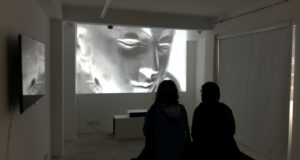 Sublimation: Reza Famori's Video Art at Platform 101 Exhibition