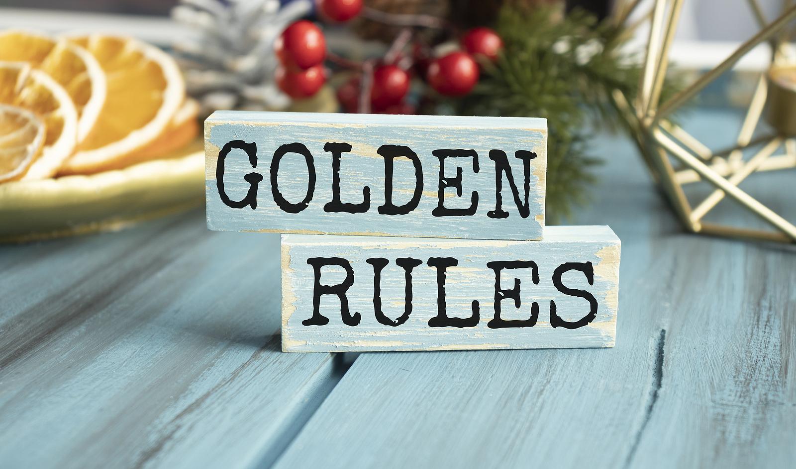 Golden Rules of Art Handling
