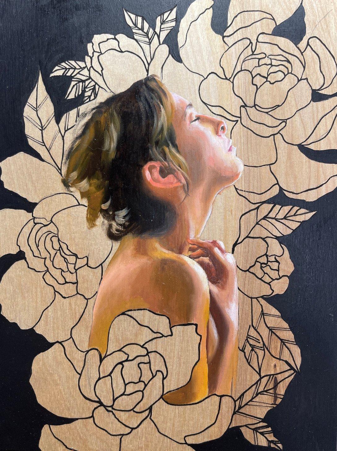 Portraits and Figure Paintings by Mandie Keay