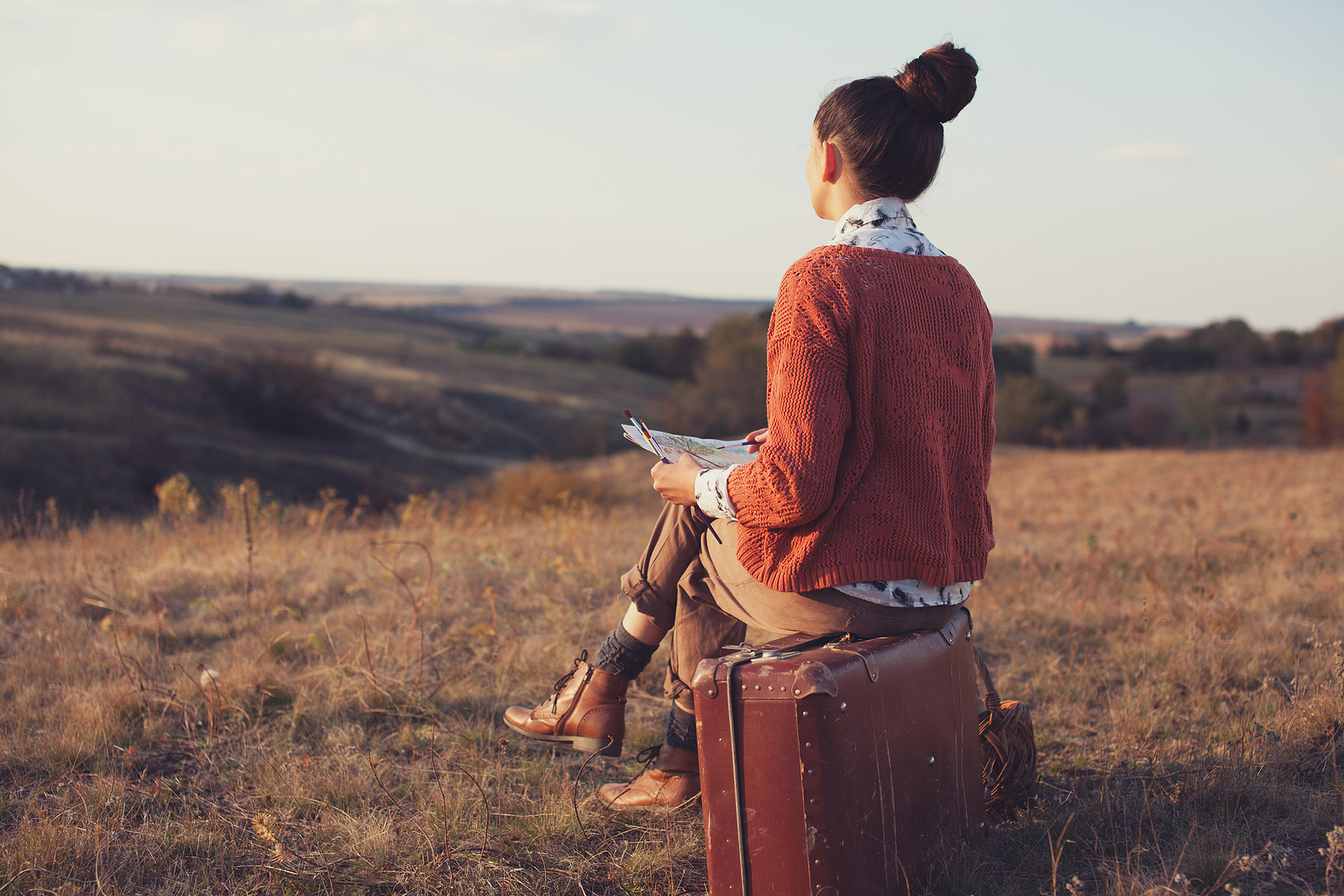 Traveling artist