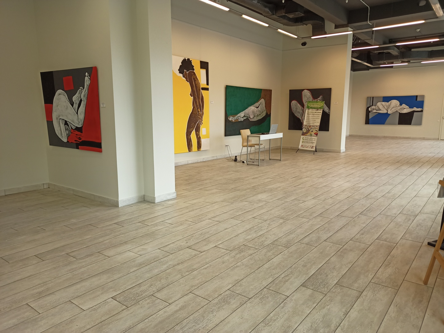 """The Best of Contemporary Ukrainian Art at the Art Gallery """"Manufactura"""""""