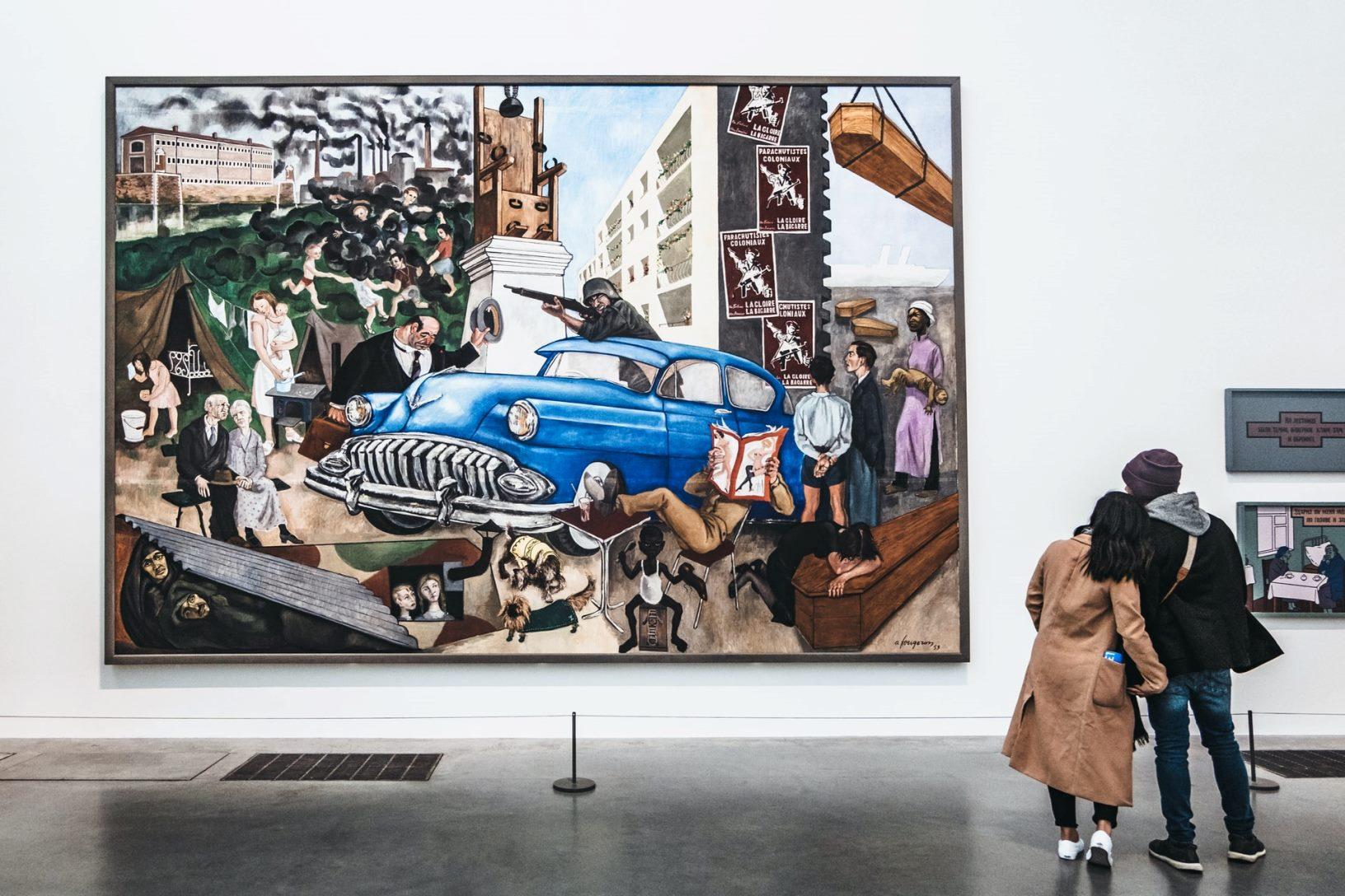 Modern art vs. contemporary art
