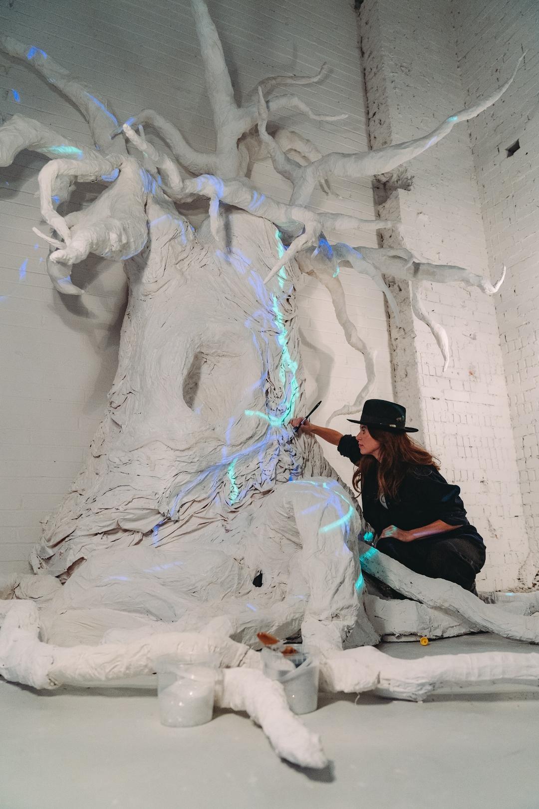 An Open Dialogue with Nature: Multi-Sensory Art by Lauren Baker