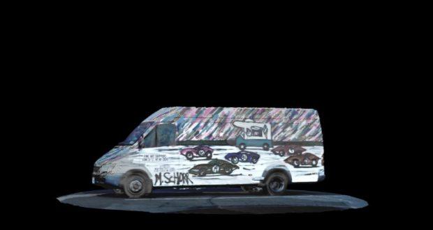 """""""Da Race on Wheels"""" Has Now Its Own NFT Artwork"""