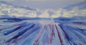 Lavender-Inspired Acrylic Paintings by Vian Borchert at Lichtundfire