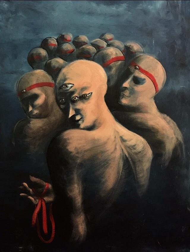 Expressive Surrealist Art by the Georgian Artist Ana Iakobashvili